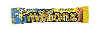 Picture of MILLIONS *TUBE* BANANA X 18