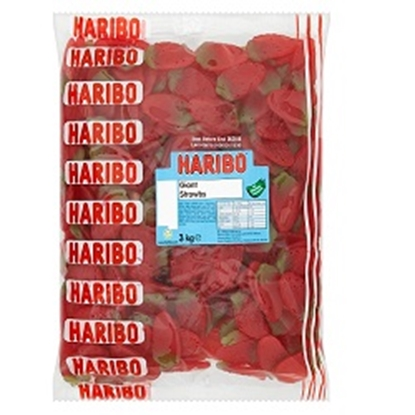 Picture of HARIBO W/O GIANT STRAWBS 1 X 3KG