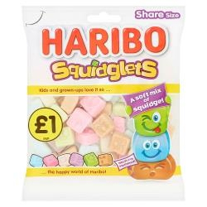Picture of PM £1 HARIBO SQUIDGLETS 160G X 12