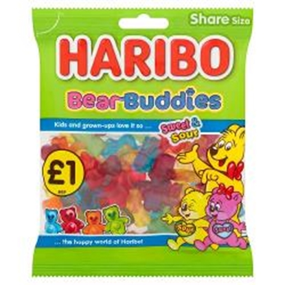 Picture of PM £1 HARIBO BEAR BUDDIES 160G X 12
