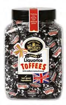 Picture of WALKERS W/O LIQUORICE TOFFEE X 2.5KG BAG