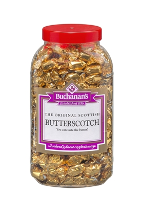 Picture of BUCHANANS W/O BUTTERSCOTCH  2.75KG JAR