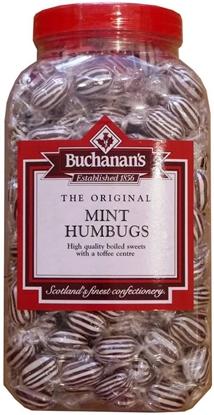 Picture of BUCHANANS W/O MINT HUMBUGS X 2.75KG JAR