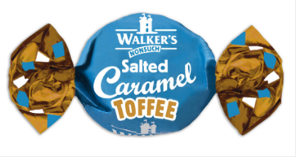 Picture of WALKERS W/O SALTED CARAMEL TOFFEE X 2.5KG  BAG