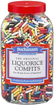 Picture of BUCHANANS W/O LIQUORICE COMFITS X 4KG JAR