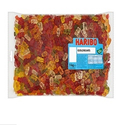 Picture of HARIBO W/O GOLD BEARS X 3K