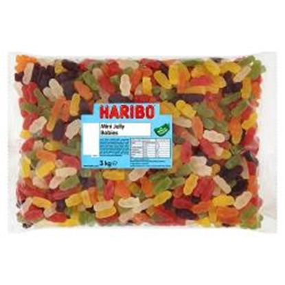 Picture of HARIBO W/O *MINI*JELLY BABIES 3KG
