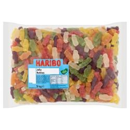 Picture of HARIBO W/O JELLY BABIES X 3KG