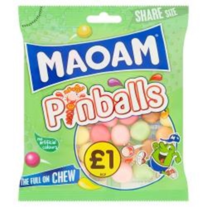 Picture of PM £1 HARIBO MAOAM PINBALLS 140G X 12