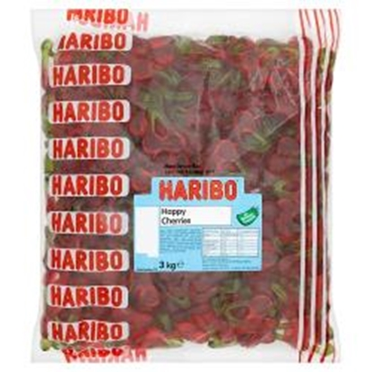 Picture of HARIBO W/O HAPPY CHERRIES X 3KG