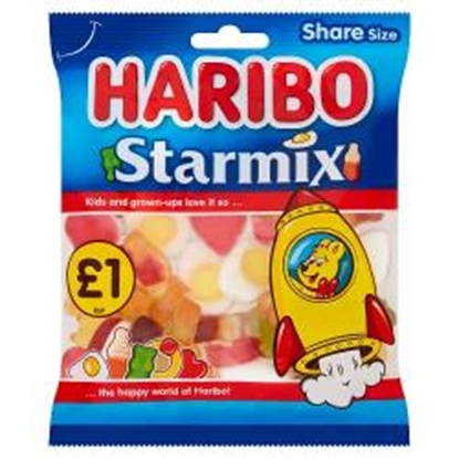 Picture of PM £1 HARIBO STARMIX 160G X 12