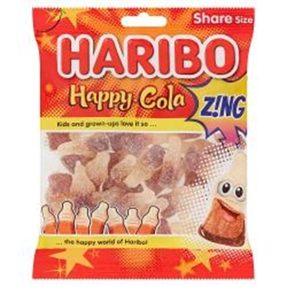 Picture of HARIBO HAPPY COLA ZING 160G X 12