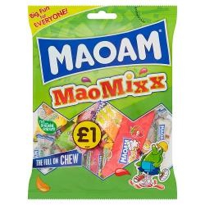 Picture of PM £1 HARIBO MAOAM MAO MIX 140G X 12