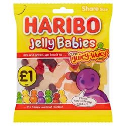 Picture of PM £1 HARIBO JELLY BABIES 160G X 12