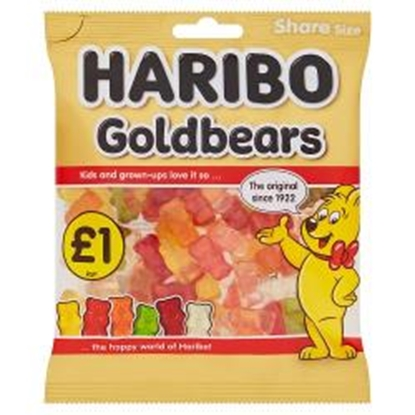 Picture of PM £1 HARIBO GOLD BEARS 160G X 12