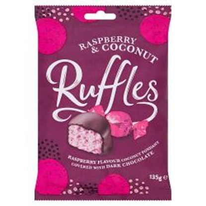 Picture of JAMESONS RASPBERRY RUFFLE BAG 135G x 12