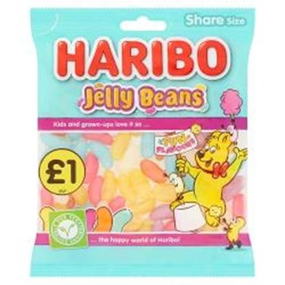 Picture of PM £1 HARIBO JELLY BEANS vege 160G X 12