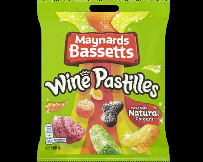 Picture of WINE PASTILLES 160G BAG X 12