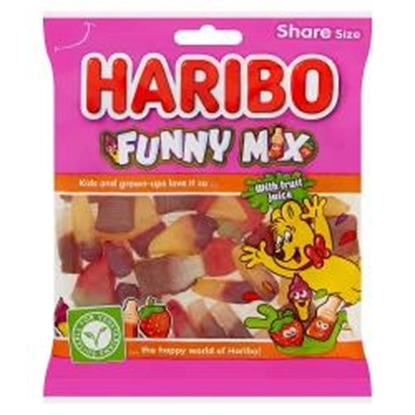Picture of HARIBO FUNNY MIX 160G X 12