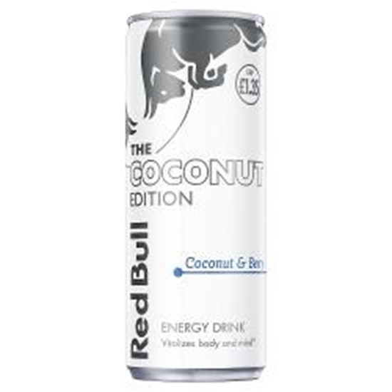 Picture of PM £1.35 RED BULL COCONUT 250ML CANS x 12