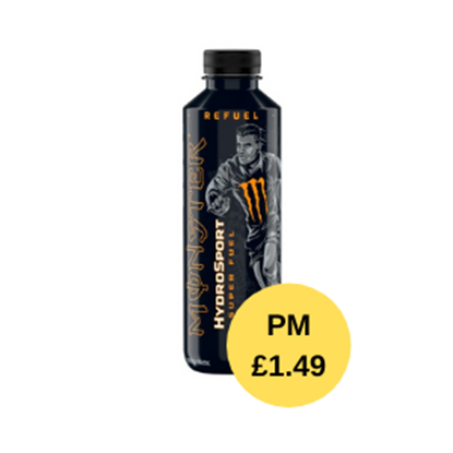 Picture of PM £1.49 MONSTER HYDRO SPORT CHARGE 650ML X 12