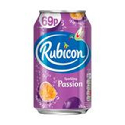 Picture of PM 69P RUBICON PASSIONFRUIT CANS 330ML X 24