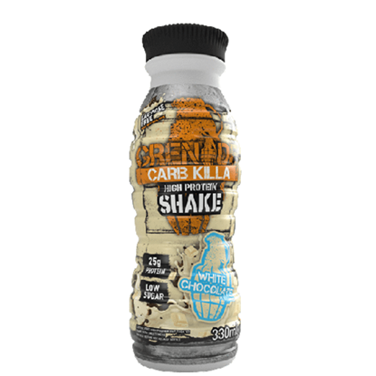 Picture of GRENADE MILKSHAKE WHITE CHOCOLATE  330ML X 8