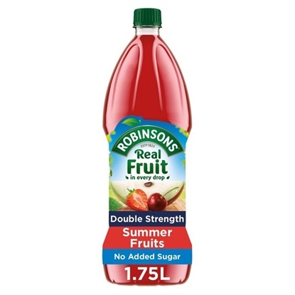 Picture of ROBINSONS DOUBLE CONC SUMMER FRUIT 1.75LTR X 2