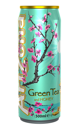 Picture of ARIZONA *CANS* GREEN TEA + HONEY 500ML X 12