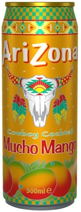 Picture of ARIZONA *CANS* MUCHO MANGO 500ML X 12