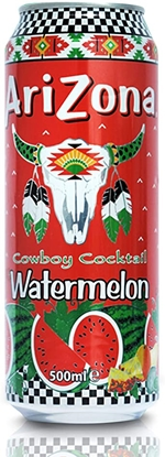 Picture of ARIZONA *CANS* WATERMELON 500ML X 12