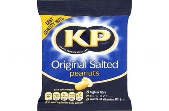 Picture of KP SALTED NUTS CARD 50G X 24/18