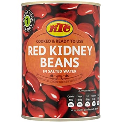 Picture of KTC RED KIDNEY BEANS 400G X 12