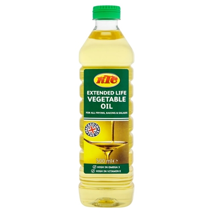 Picture of KTC VEGETABLE OIL 500ML X 12
