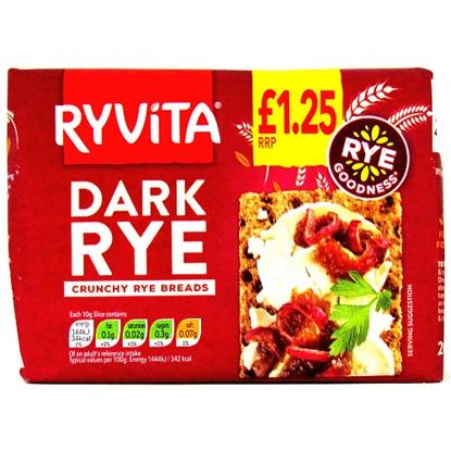 Picture of PM £1.25 RYVITA DARK RYE 200G X 12