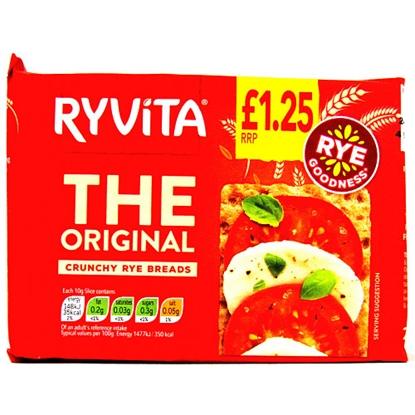 Picture of PM £1.25 RYVITA ORIGINAL 200G X 12