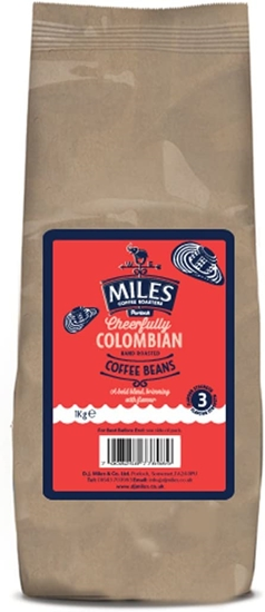 Picture of MILES COLOMBIAN COFFEE BEANS 1KG