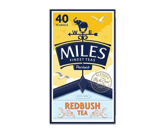Picture of MILES REDBUSH TEA BAGS 40s x 6