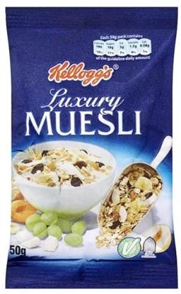 Picture of KELLOGGS LUXURY MUESLI (1 SERVE) X 32
