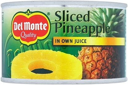 Picture of DEL MONTE PINEAPPLE SLICES IN JUICE 220G  x 12
