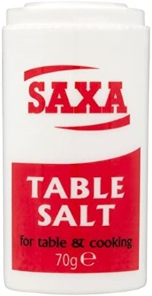 Picture of HERITAGE TABLE SALT 70G POTx12