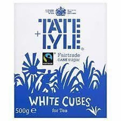 Picture of TATE & LYLE WHITE SUGAR CUBES 500G X 10