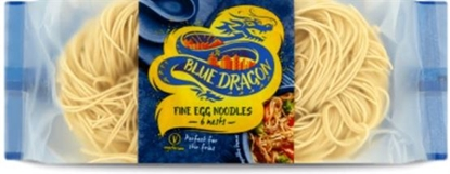 Picture of BLUE DRAGON EGG NOODLE NESTS 300G X 8
