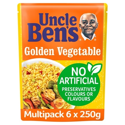 Picture of UNCLE BENS GOLDEN VEG RICE 250G x6