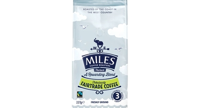 Picture of MILES FAIRTRADE GROUND COFFEE 227G x 12