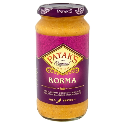 Picture of PATAKS KORMA SAUCE 450G X 6