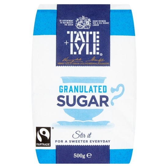 Picture of TATE & LYLE GRANULATED SUGAR *500G* X 10