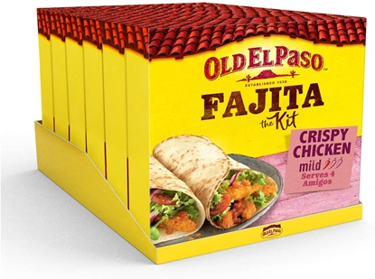 Picture of OLD EL PASO CRISPY CHICKEN FAJITA KIT 555G X 6