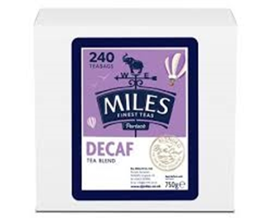Picture of MILES *DECAFF*TEABAGS 240s