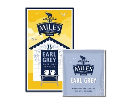 Picture of MILES EARL GREY TEA *TAGGED* AND ENV 25'S X 6
